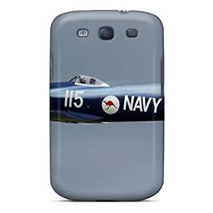 LJF phone case Brand New S3 Defender Case For Galaxy (royal Australian Air Force Plane)