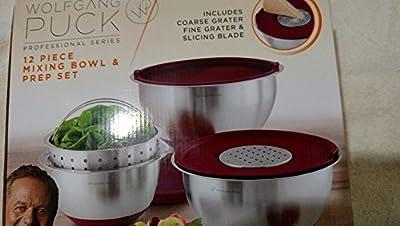 Wolfgang Puck Mixing Bowl set 12 pc