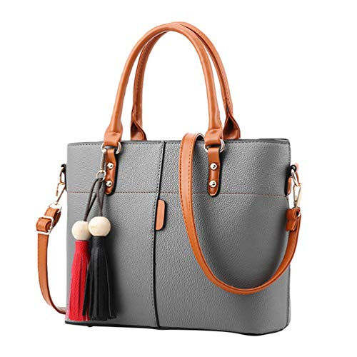 Tote Gray Womens Handbags Long Crossbody Shoulder Handbags Light Strap YAANCUN Bags PA7Zx