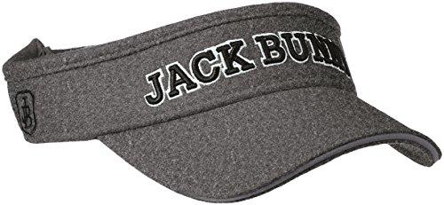 (ジャックバニー バイ パーリーゲイツ)JACK BUNNY by PEARLY GATES [ 男女兼用 ] JB ロゴ サンバイザー ( サイズ調整可能 ) ゴルフ 帽子 262-7287003