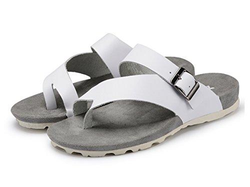 Dqq Mens Sandalo Con Cinturino In Pelle Moda Uomo B