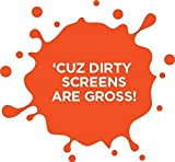 WHOOSH! Screen Cleaning Microfiber Cloths Set BEST