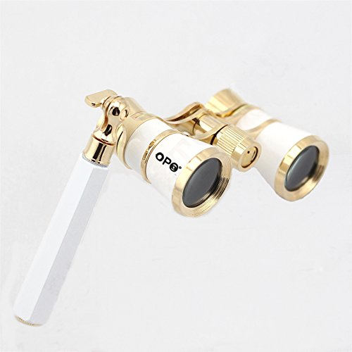Opera Glasses Compact Binoculars for Theater Horse Racing Classical Lady Gift 3X25...