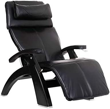 Cheap Human Touch Perfect Chair PC-420 Premium Full Grain Leather Hand-Crafted Zero-Gravity Matte Black Manual Recliner living room chair for sale