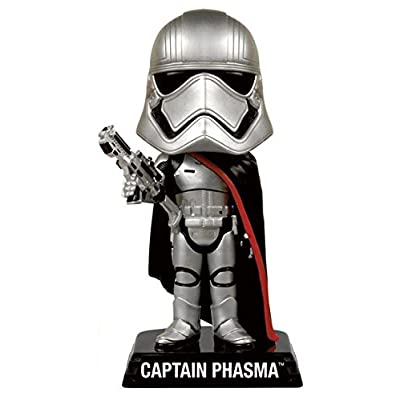 Star Wars Episode 7 - Captain Phasma Wacky Wobbler: Funko Pop! Star Wars:: Toys & Games