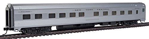 85' Budd 10-6 Sleeper - Ready to Run -- New York Central (silver)
