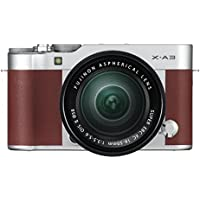 FUJIFILM X-A3 Lens Kit [Brown][International Version, No Warranty] [Electronics]