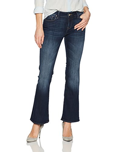 Mavi Jeans Women's Petite Ashley Mid Rise Bootcut hot sale