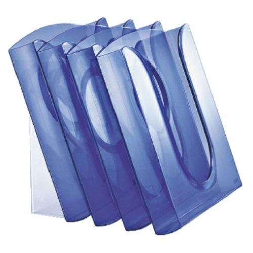 Leitz Presenter Set 54000034 Document Display Holders A4 Polystyrene Transparent Blue