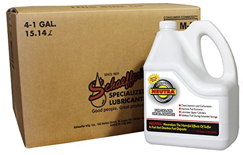 (Schaeffer Manufacturing 0131-004 Neutra Fuel Stabilizer, 1 gal (Pack of 4))