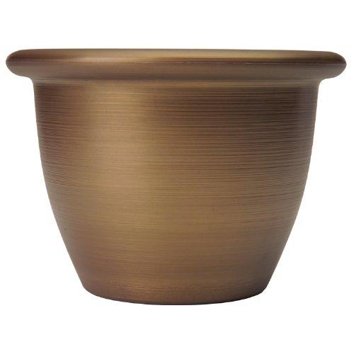 Listo SAA16001P04 Sevilla Planter, Majestic Bronze, 16-Inch ()