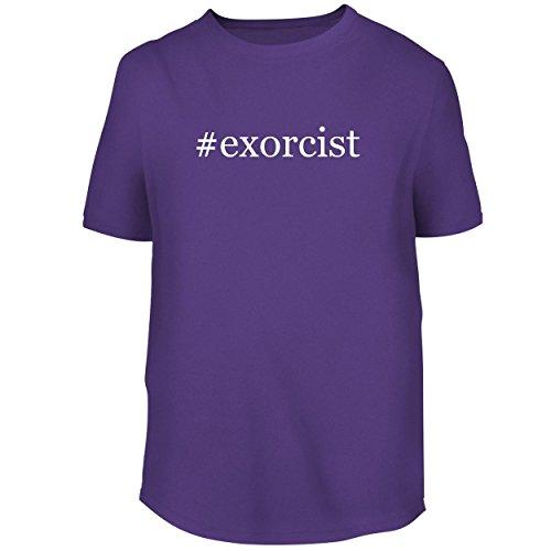 BH Cool Designs #Exorcist - Men's Graphic Tee, Purple, XX-Large
