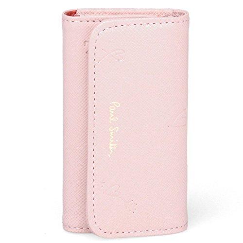 Paul Smith Quadruple key case Smithy Heart Women pink