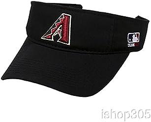 best sneakers f07d9 70065 MLB Official Replica Baseball Visor Various Team Hat Adjustable MLB  Licensed , Arizona Diamondbacks - Home