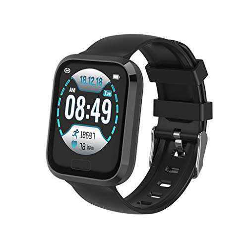 Price comparison product image MChoiceP30 Heart Rate Blood Pressure Sleep Monitoring Smart Watch Sports Bracelet (Black)