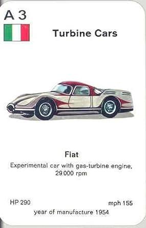 Amazon 1954 Fiat Gas Turbine Experimental Concept Card