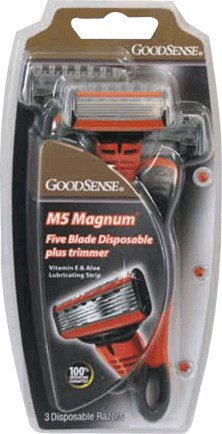 GoodSense M5 Magnum 5 Blade Plus Trimmer Disposables for ...