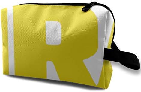 NRA Word Portable Travel Makeup Storage Bag Organizer Multifunction