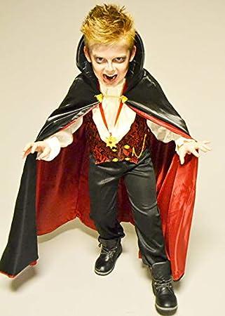 Magic Box Disfraz de Drácula de Vampiro transilvano para niño ...