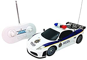Amazon Com Justice Team Police Rc Police Car 1 20 Scale