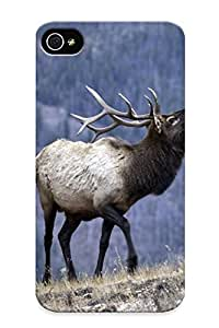 Hot Tpu Cover Case For Iphone/ 6 4.7 Case Cover Skin Design - Bull Elk Elks Deer (21)