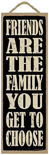 (SJT ENTERPRISES, INC. Friends are The Family You get to Choose 5