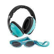 BABY BANZ BB660 Mini Earmuffs Protection Set-Aqua, Blue