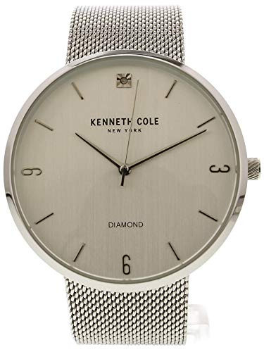 (Kenneth Cole Men's Genuine Diamond Mesh Fashion Watch KC50638002)