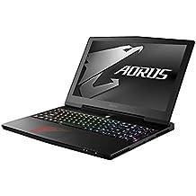 "Gigabyte Max - Q Aorus X5 MD-KL4K3M 15.6"" UHD IPS Intel Core i7-7820HK GTX 1080 GDDR5X 8GB, 32GB RAM PCIe NVMe 256GB HDD 1TB G-SYNC Win10 full ultra thin and light metal chassis gaming laptop"