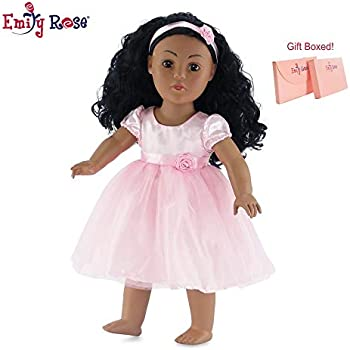 """18/"""" doll clothes-fits American Girl Generation My Life-Dress-Chevron w//Dots"""