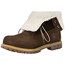 Timberland Women's AUTH TEDY FLEECE TOBAC 40 Casual Boot