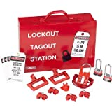 Panduit PSL-KT-PWR Lockout, Red by Panduit