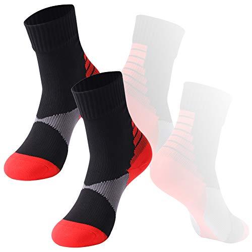 Boy's Hiking Socks Waterproof Socks, RANDY SUN Little GirLs Outdoor Snowboard Performance Socks 2 Pairs for Cycling, Hiking, Rowing, Skiing, Snowboating & More! ()