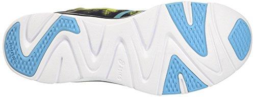 Asics Gel-Fit Sana 2, Zapatillas de Gimnasia Unisex Adulto Nero (Black/Aquarium/Neon Lime)