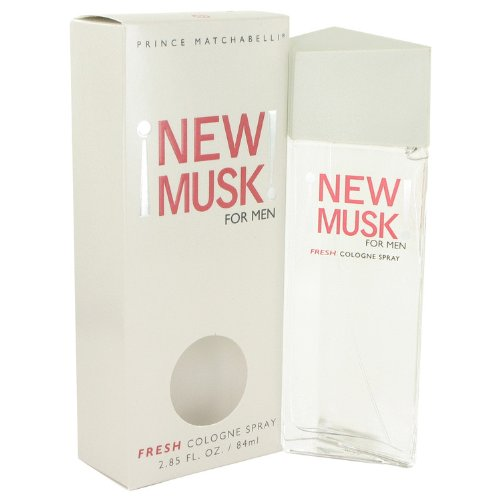 New Musk Cologne By Prince Matchabelli 2.8 oz Cologne Spray For Men - 100% AUTHENTIC ()