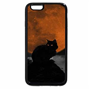 iPhone 6S / iPhone 6 Case (Black) Night-Cat