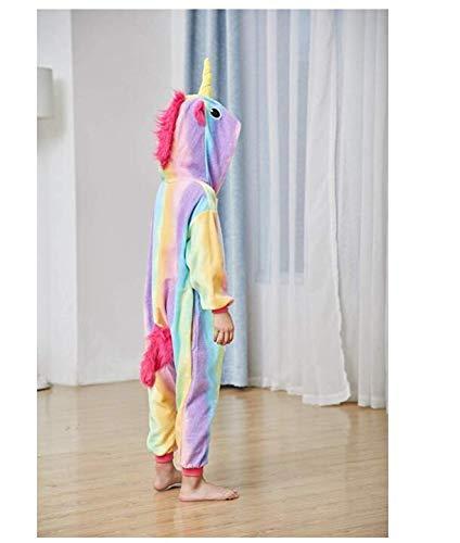 Girls One-Piece Kids Gold Horn Unicorn Pajamas Cartoon Animal Pink Licorne Onesie Sleepers Boy Costume Jumpsuit (130-140)        Amazon imported products in Karachi