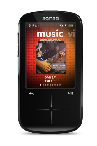 SanDisk Sansa Fuze+ 16 GB MP3 Player