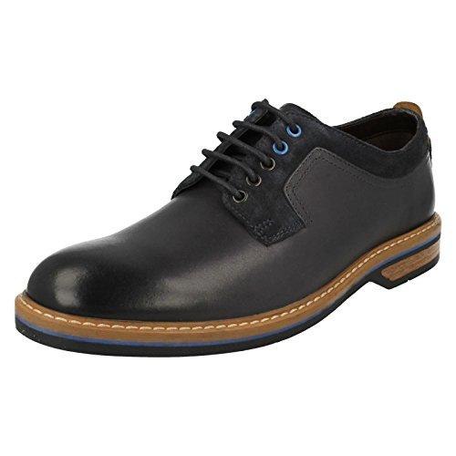 CLARKS Clarks Mens Shoe Pitney Walk Dark Blue Dark Blue