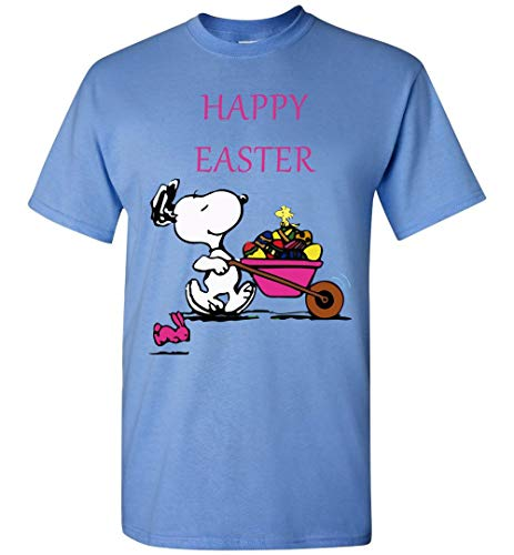 Happy Easter Snoopy and Woodstock Funny T-Shirt Carolina