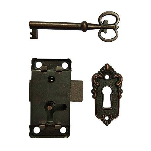 Buy antique lock and skeleton key