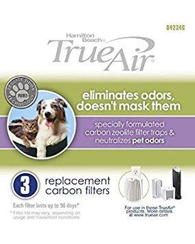 Hamilton Beach TrueAir 04234G Replacement Carbon Filter 6 Pack ...