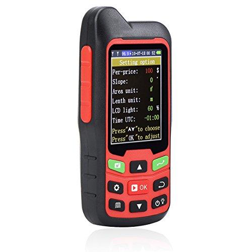 (Te-Rich Handheld GPS GLONASS Land Area Measurer Calculation Meter)