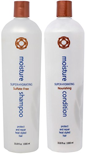 (Thermafuse Moisture Shampoo 33.8 oz and Conditioner 33.8 oz Duo Liter Size )