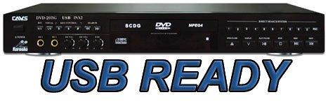 UPC 829772000137, Cavs DVD 203G-USB Karaoke Player Usb Connector