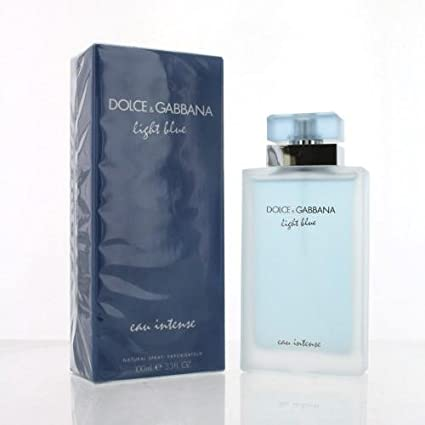 af91fa36c3 Amazon.com   Dolce   Gabbana Light Blue Eau Intense for Women Eau de Parfum  Spray