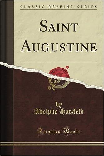 Book Saint Augustine (Classic Reprint)