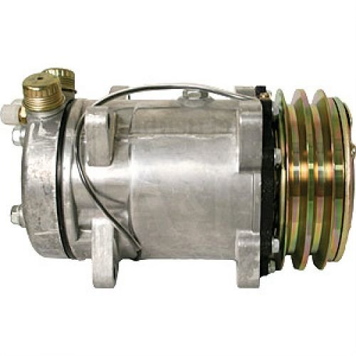 Air Conditioning Compressor - Sanden Style w/Clutch White 2-180 4-210 145 2-88 2-85 4-225 170 100 185 125 140 160 2-135 120 2-110 2-155 195 Allis Chalmers Steiger FIAT AGCO Deutz Same Oliver