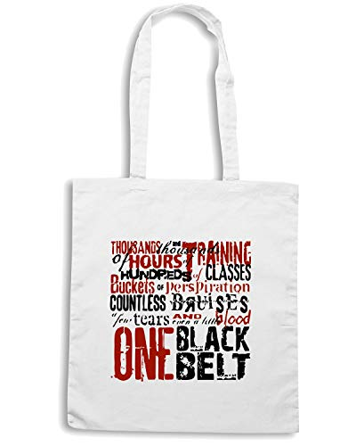 Borsa Shopper Bianca TAM0147 ONE BLACK BELT