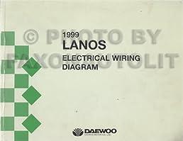 1999 daewoo lanos wiring diagram manual original daewoo amazon com rh amazon com daewoo matiz wiring diagram daewoo lanos electrical wiring diagram
